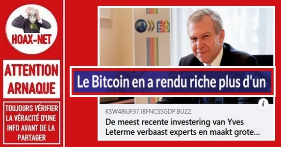 Attention arnaque agressive par « BITCOIN ERA » sur Facebook.