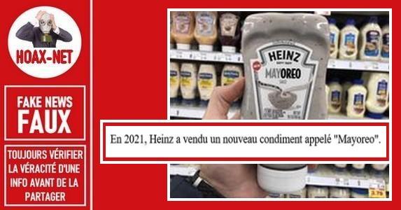 Non, Kraft Heinz Co n'a pas sorti un nouveau produit appelé «Mayoreo».